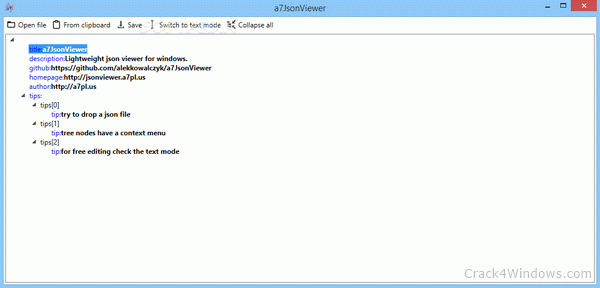 How to crack a7 JsonViewer