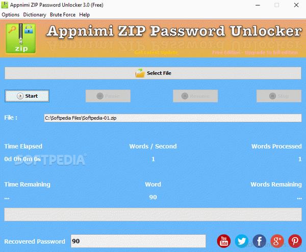 How to crack Appnimi ZIP Password Unlocker