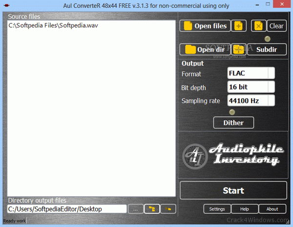 How to crack AuI ConverteR 48x44