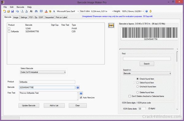 Barcode maker pro 1.0 keygen