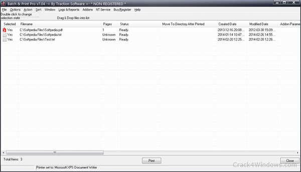 Batch & Print Pro 1.31 serial key or number