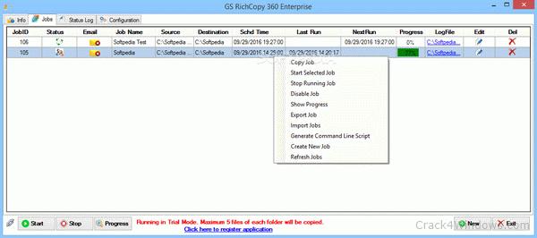 How to crack GS RichCopy 360 Enterprise