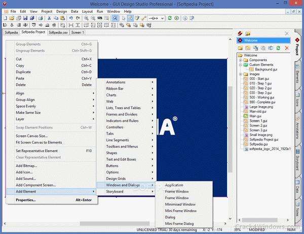 Gui design studio professional 5. 1. 167 free download.