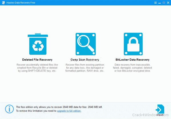 amazing any data recovery crack free download
