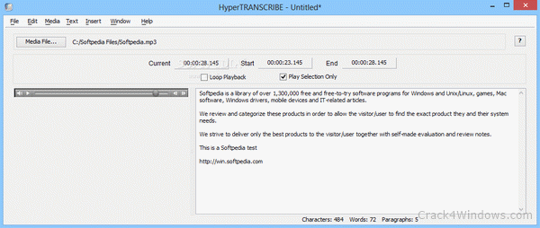 Transcribe 8 license key full version