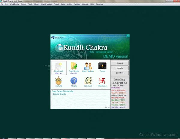 kundli chakra 2012 professional crack file