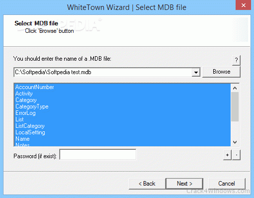 How to crack MDB to CSV Converter