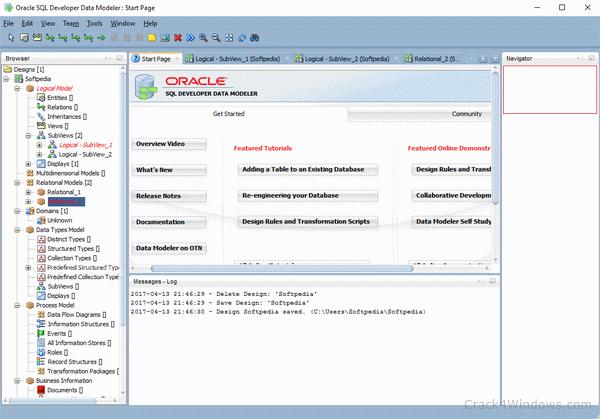 How to crack Oracle SQL Developer Data Modeler