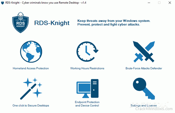How to crack RDS-Knight