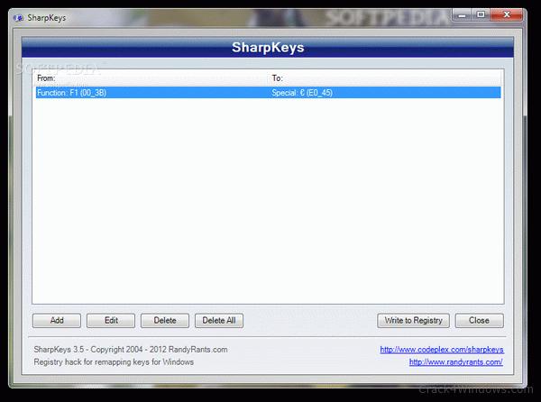 How To Crack Sharpkeys