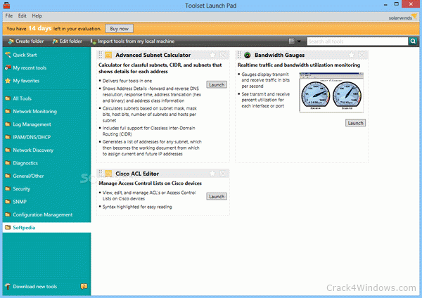 How to crack SolarWinds Engineer's Toolset