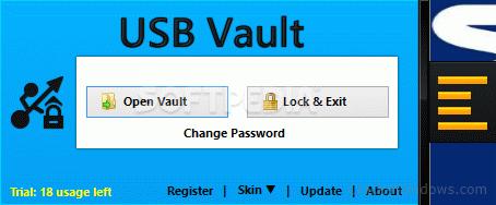How to crack USB Vault
