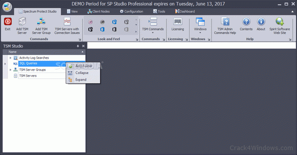 How to crack SP Studio (previously TSM Studio)