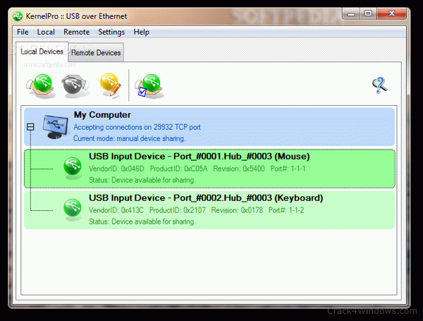 How to crack USB over Ethernet