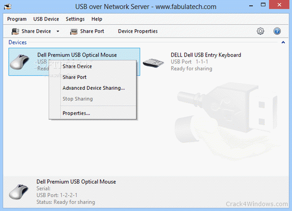 How to crack USB over Network