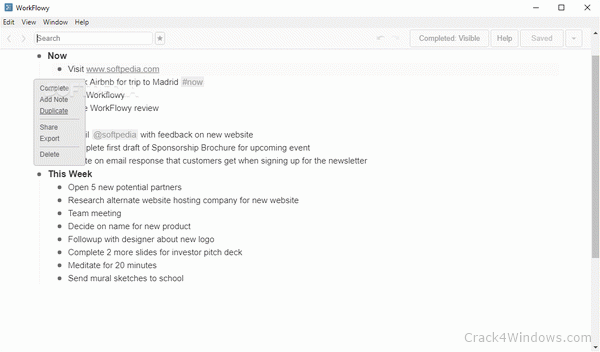 WorkFlowy Desktop 1.3.5 Crack Plus Activation Keys Download 2021