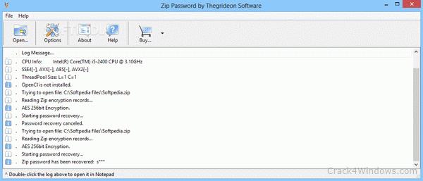 How to crack Zip Password