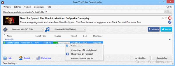 free youtube download v 3.2 0 build 128