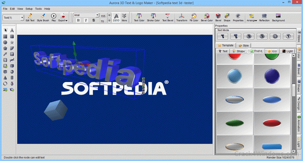aurora 3d text logo maker crack free download